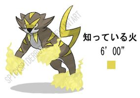 Saber Tooth Fakemon by TRspicy