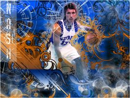 Steve Nash by kaloian40