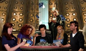 Time Lord Poker Night by killashandra-falta