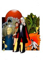 The Third Doctor by MikeMcelwee