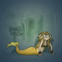 Angela's Magic Lesson - Long Crawl to a Short Pier by Mr-DNA