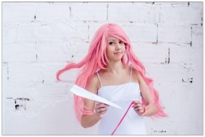 Megurine Luka Cosplay (Just Be Friends) by JNCosplayers