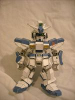 Gundam Hi-V Papercraft by Jophish126