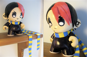 Knives Chau Munny by sparr0