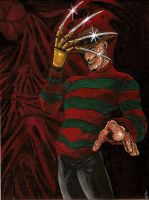 Freddy Krueger by BlackCoatl