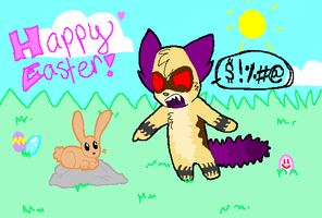 Happy Easter by Ace-Eevee-Kat