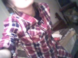 My new Plaid Shirt from Mall. by DeannaBeBangin