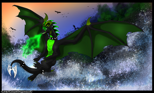 G: Orion~ Crashing Waves by StephDragonness
