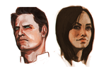 more mass effect portraits by lely91