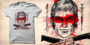 bloodwork dexter shirt by biotwist