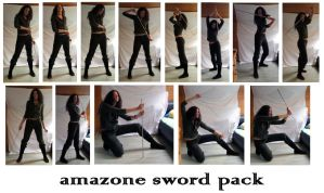 amazone sword pack by syccas-stock