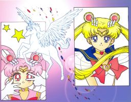 Sailor Moon by ComicError