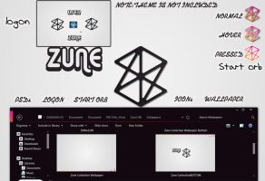Zune HD for seven by wolvraj