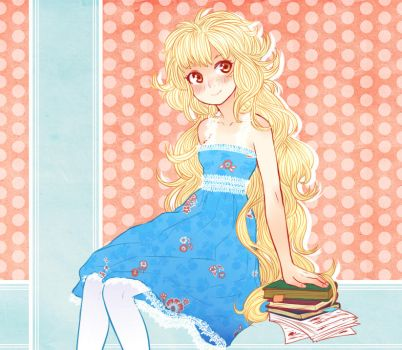 Just a blond loli ... seriously by somik