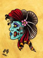 The Zombie Gypsy by Vicki-Death