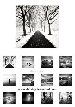 'To Nowhere' Calendar by drkshp