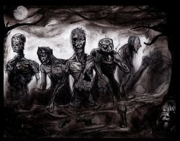 Swamp Zombies by Art-of-the-Seraphim