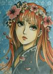 ACEO #129: Flower Crown by MTToto