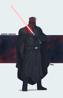 Darth Gravus by Blazbaros