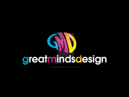 Great Minds Design Logo by sampdesigns