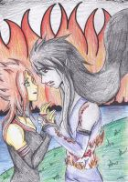 Flame Princess and Marceline: We Can If We Try by Kintaroo