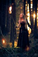 Arcane Dance Of Torches 6 by Narzull