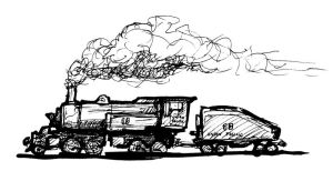 2-4-4-0 Mallet Engine by clearwater-art