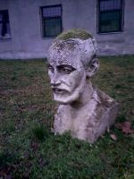 Bust Of Economyst by Waspdrake