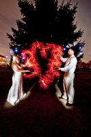 My Heart Is On Fire Wedding LP by drtongs