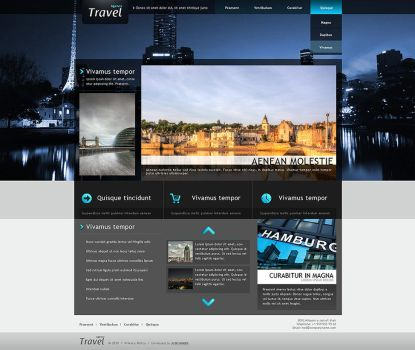 Template Agency Travel by JC-W-D-sign