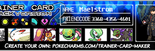 Updated trainer card by maelstrom14