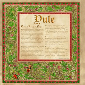 Book of Shadows, Yule by Brightstone