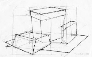 Perspective Study I by Norke