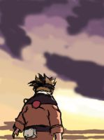 Naruto Sunset WIP by anneleen