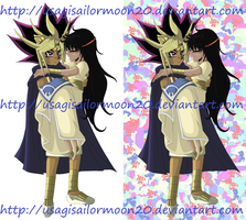 The Pharoh And His Wife Umi - PC For Tenno-Chan by usagisailormoon20