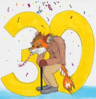 Happy birthday to me 30 years old by rodrev