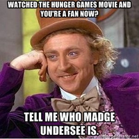 Who's Madge? by Lenmccarristarr