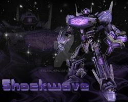 Shockwave- Transformers by Eloozhunz