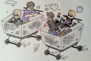 Shopping Cart Time Machines by MaidenofIron157