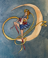 Sailor Moon by TEAofeyes
