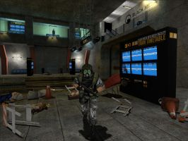 Half-Life: Adrian Shephard in Action by NUG3M