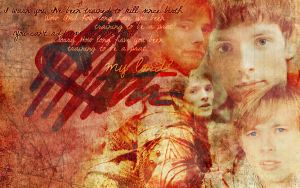 MerlinXArthur wallpaper by inacloudyday
