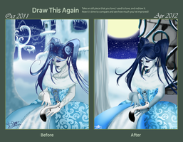 Draw this again contest - My Snow Queen by x-Tsuzurao-x