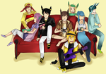 PKMN::Just sitting there by Pandastrophic