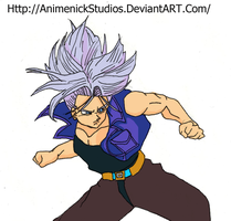 Trunks del Futuro by AnimenickStudios