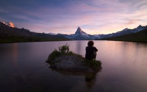 Under the Matterhorn by Arafinwearcamenel
