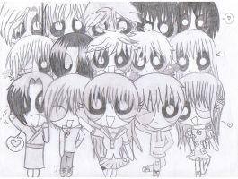 Fruits Basket PPG style :P by AnimeCutie-x