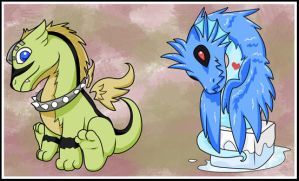 Chibi Dragons, Round 1 by Unibomber703
