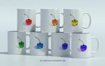 Rainbow Cherries - Mugs by THE-LEMON-WATCH