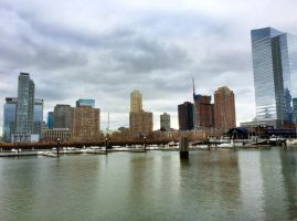 Jersey City Skyline by towerpower123